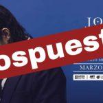 [POSPUESTO] José Madero en Puebla este próximo 28 de marzo.