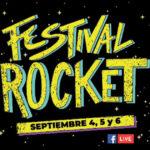Llega la primera edición del #FestivalRocket apoyando a los artistas emergentes.